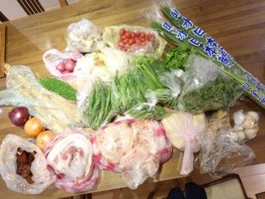今週も濱江市場でお買い物〜