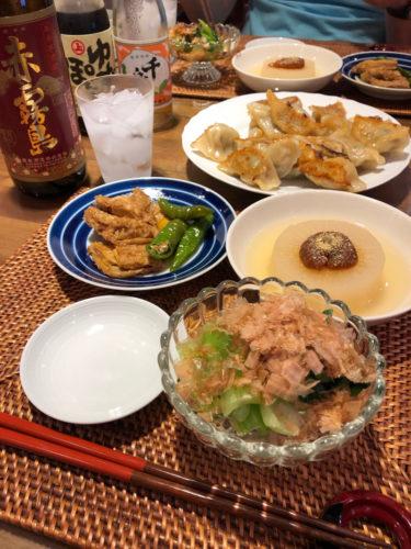 夫ごはん〜一時帰国後のおうちごはんと日本の悪しき酒習慣