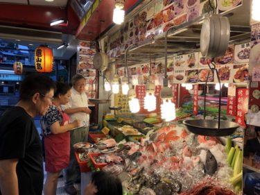 遼寧夜市にある台湾式海鮮居酒屋【鵝肉城活海鮮】で飲んできたよ